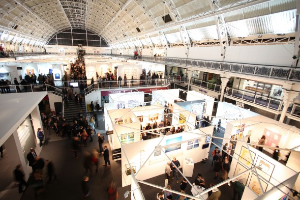 London Art Fair, installation view 2014, photo copyright of James Champion