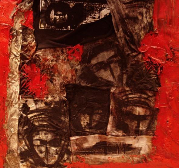 "Contemporary Istanbul, Sait Zaimkeles, ""anatolia has an owner/the last Haitian"" (2012), oil on canvas, photo courtesy of Contemporary Istanbul"