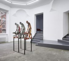 Oliver Laric at Tanya Leighton Gallery (2014), installation view, photo courtesy of the gallery