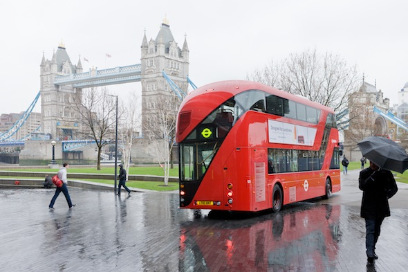 Berlin Art Link, New Bus for London. Photo: Iwan Baan