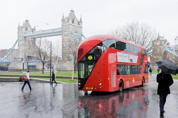 Berlin Art Link, New Bus for London. Photo: Iwan Baan