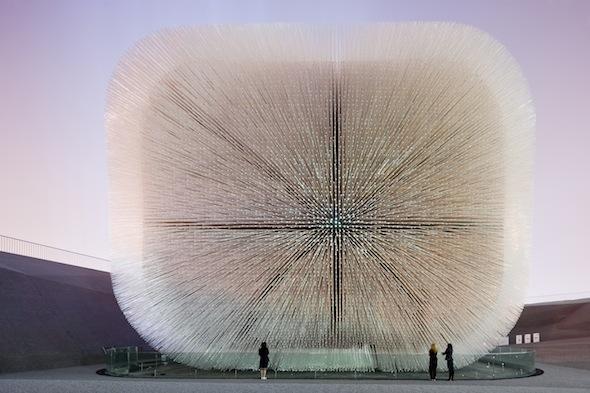 Berlin Art Link, UK Pavilion, Shanghai World Expo 2010. Photo: Iwan Baan.