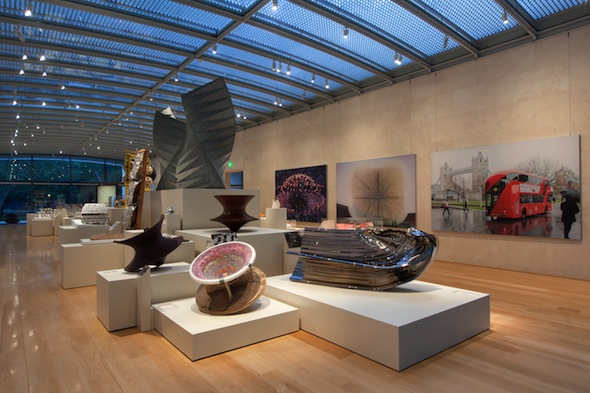 Berlin Art Link, Installation view of Provocations: The Architecture and Design of Heatherwick Studio. Photo: Kevin Todora