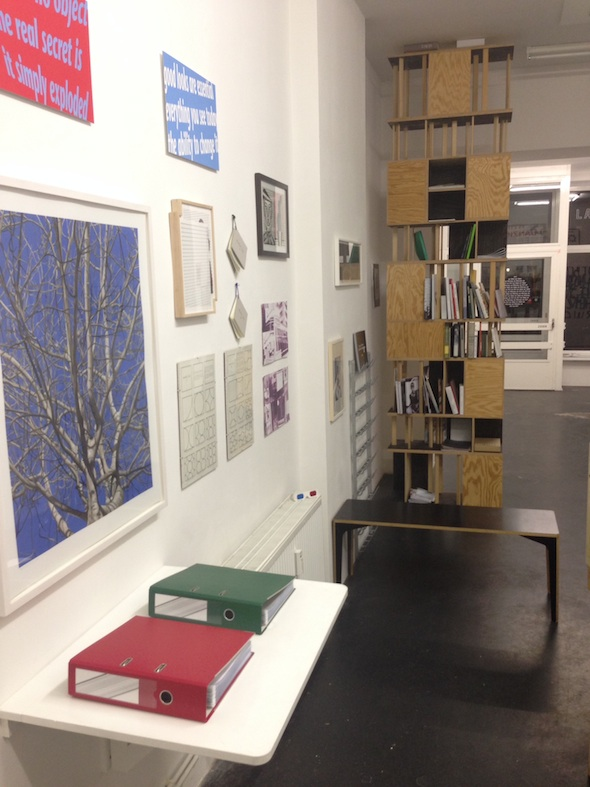 Berlin Art Link Discover Lage Egal temporary book shop