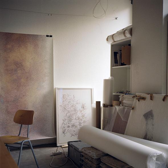 Berlin Art Link Studio Visit with Nicky Broekhuysen // Photo Conor Clarke