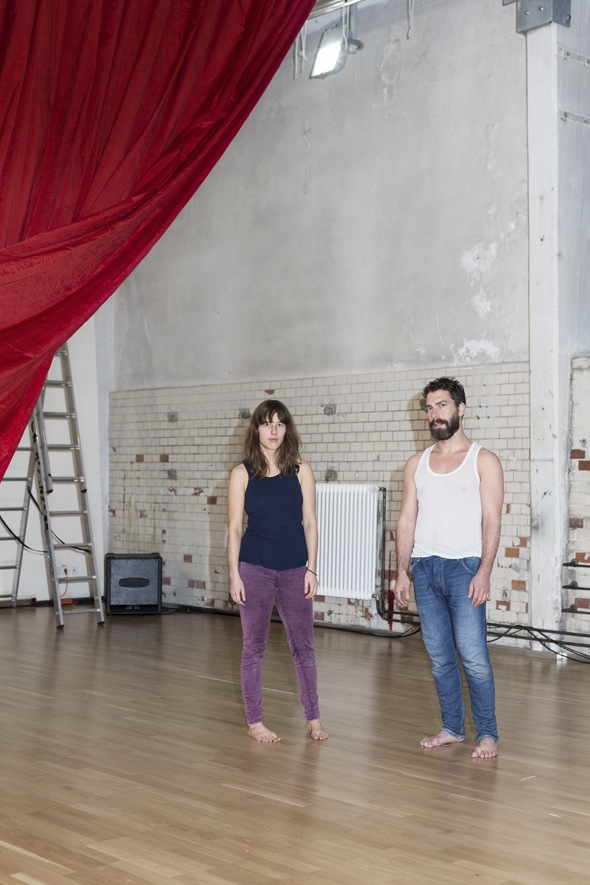 Berlin Art Link interview with performance artists Angela Schubot and Jared Gradinger