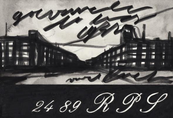 Berlin Art Link Marcel van Eeden at Spruth Magers