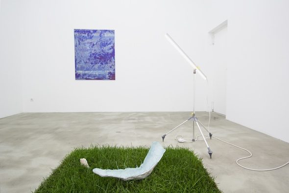 Crystal Readings Group Show, Installation View at Soy Capitan, Berlin; Photo courtesy of Soy Capitan