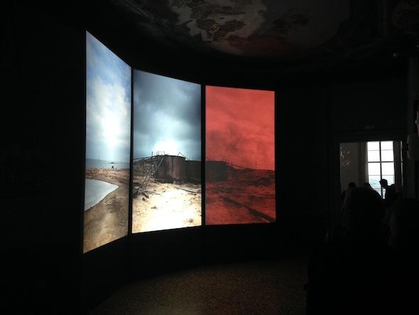 Berlin Art Link Features Venice Biennale, Art Work by Almagul Menibayeva