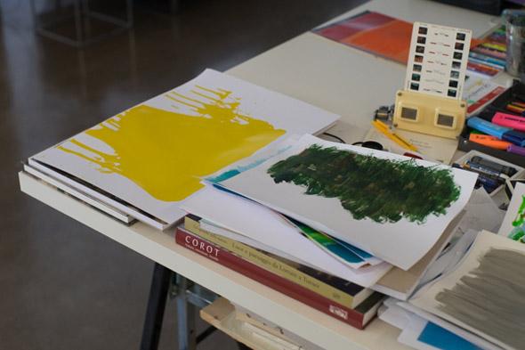 Berlin Art Link Studio Visit with Flavio de Marco
