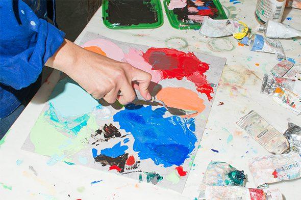 Berlin Art Link Studio Visit Sol Calero