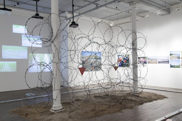 Yishay Garbasz Severed Connections: Do what I say or they will kill you, 2015 Installation view at Ronald Feldman Fine Arts, New York Photo: Casey Dorobek Courtesy of Ronald Feldman Fine Arts, New York
