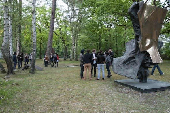 Sculpture Park at Kunsthaus Dahlem; Photo by Aap Teper
