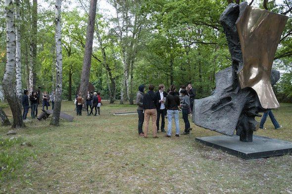Sculpture Park at Kunsthaus Dahlem; Photo by Aap Teper