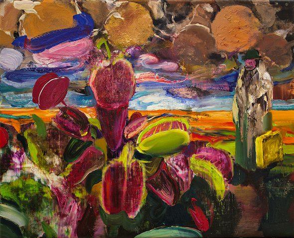 Berlin-Art-Link-Adrian-Ghenie-Carnivorous-Flowers-20141