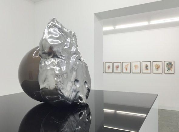Asger Carlsen - Installation View at Dittrich & Schlechtriem; Courtesy of Dittrich & Schlechtriem