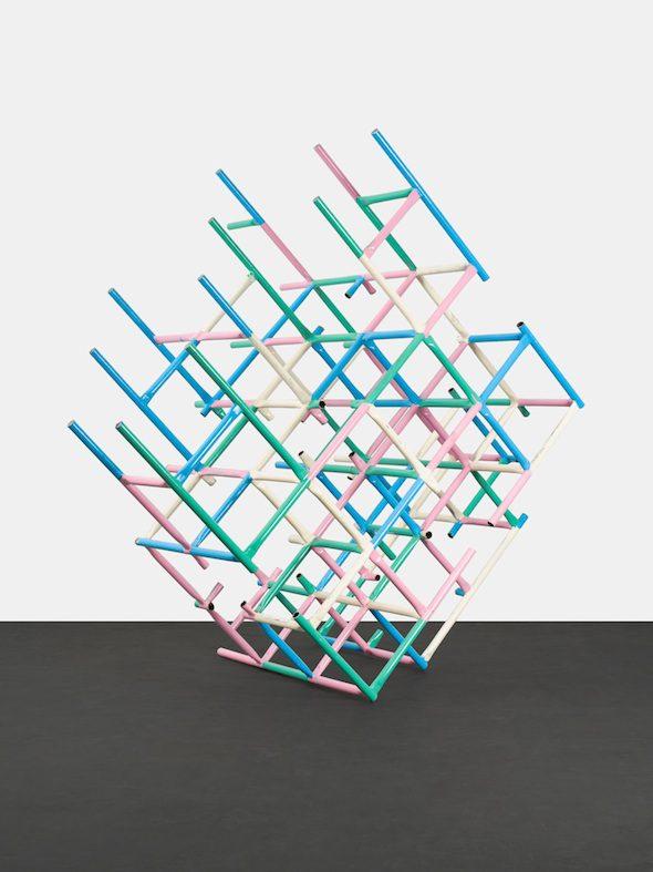 Przemek Pyszczek - Playground Structure (Grid), (2015), Sculpture; Courtesy of Peres Projects