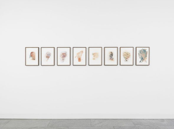 Asger Carlsen - Installation View at Dittrich & Schlechtriem (2015); Courtesy of Dittrich & Schlechtriem