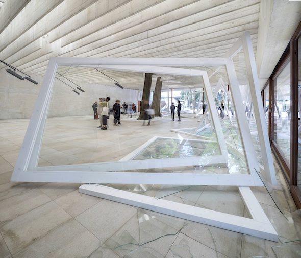 Nordic Pavilion, Rapture Installation View,  56th Venice Biennale; Photo by Matteo Da Fina, courtesy of OCA