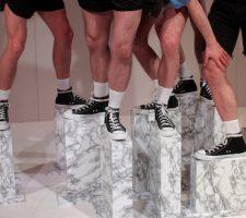 Berlinartlink-Museum der Repliken 2, 2015  Choreographie: Performance- Julian Weber Creation: Performance- Timo Müller, Jefferson Arcer, Zack Bernstein, Stuart Meyers, Gerard Reyes