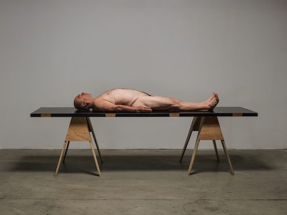 "Paul McCarthy - ""Horizontal"", (2012), photograph: Fredrik Nilsen; Courtesy of Paul McCarthy and Hauser & Wirth"