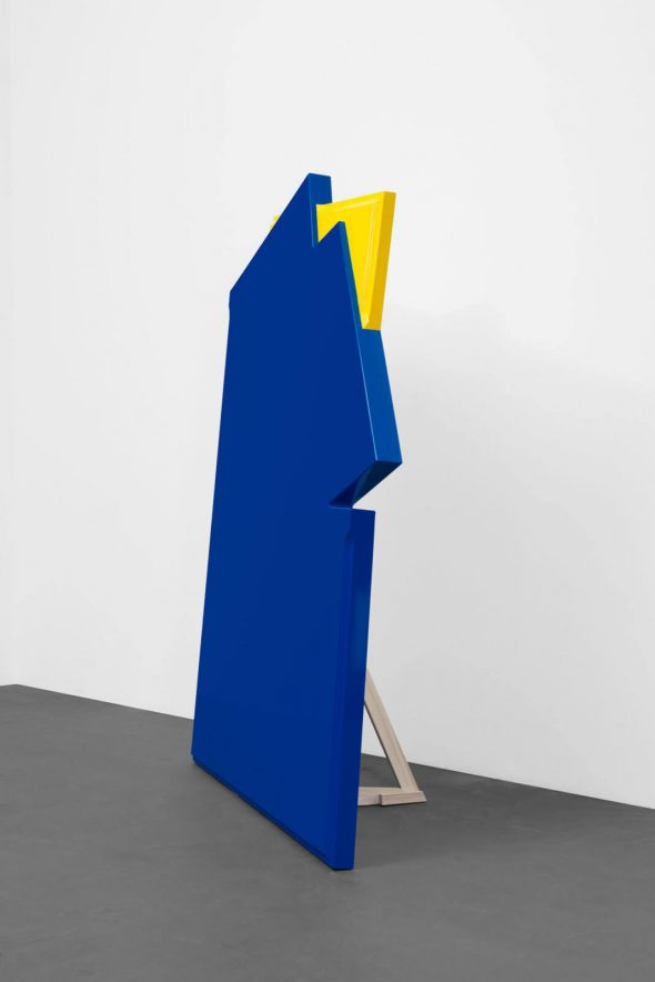 "Marinella Senatore - ""Scenografia Cut Out Detail"", (2015),  Sculpture - Plywood, acrylic paint, mixed media; Courtesy of the artist and Peres Projects Berlin"