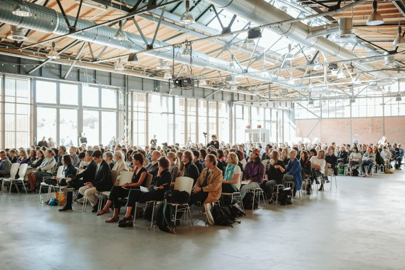 Talking Galleries/Berlin Art Week (2015); photo by Alexander Rentsch