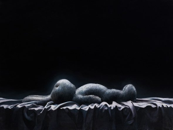 berlinartlink-Roman Tolici, Hypostasis 8, 2006, oil on canvas, 60x80cm