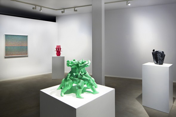 "Matthew Plummer-Fernandez - ""Hard Copy"" (2015), installation view; photo by Bresadola+Freese/drama-berlin.de, courtesy of NOME Gallery"