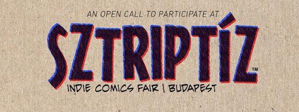 Berlin-Art-Link_Sztriptíz-comic-fair-open-call-banner