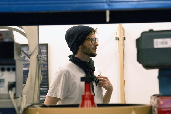 Berlin Art Link Studio Visit with Andreas Greiner