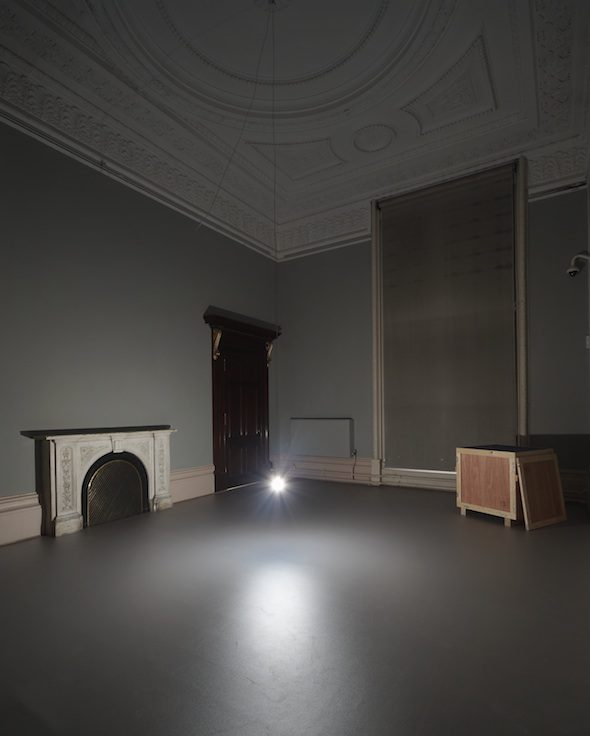 Katie Paterson: Light bulb to Simulate Moonlight, 2008 289 light bulbs, 28W, 4500K // Photo: © Haunch of Venison, 2010 Courtesy of Haunch of Venison, London