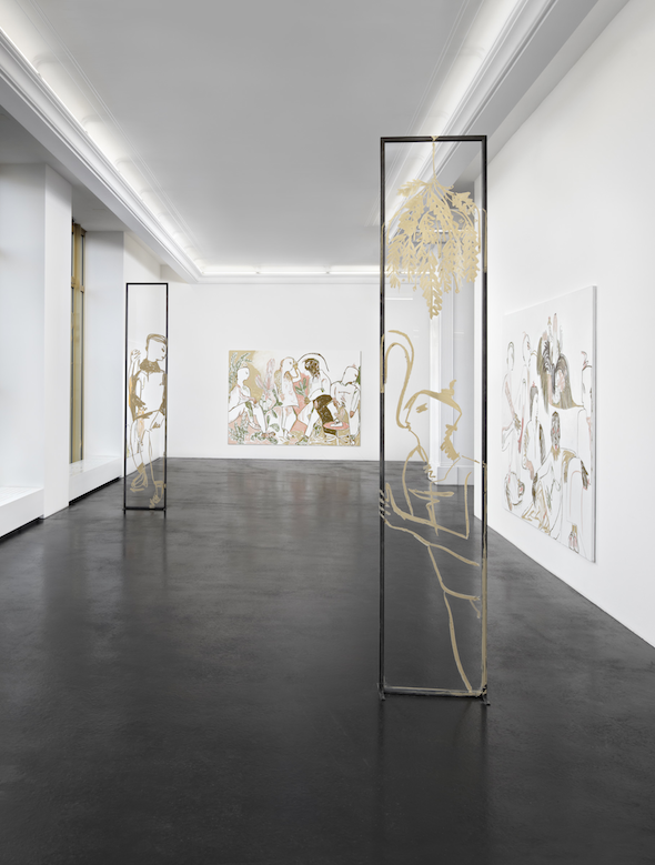 Berlin Art Link Discover Melike Kara at Peres Projects