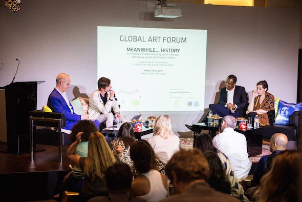 Global Art Forum at Art Dubai 2014