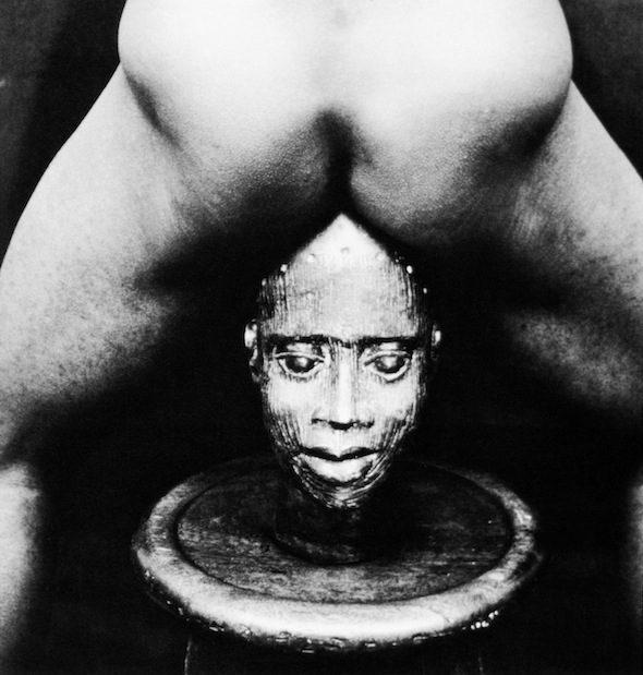"Rotimi Fani-Kayode, ""Bronze Head"", 1987 // © Rotimi Fani-Kayode, Courtesy of Autograph ABP"