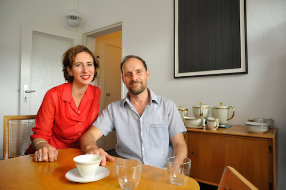 Berlin Art Link Interview with April Gertler and Adrian Schiesser