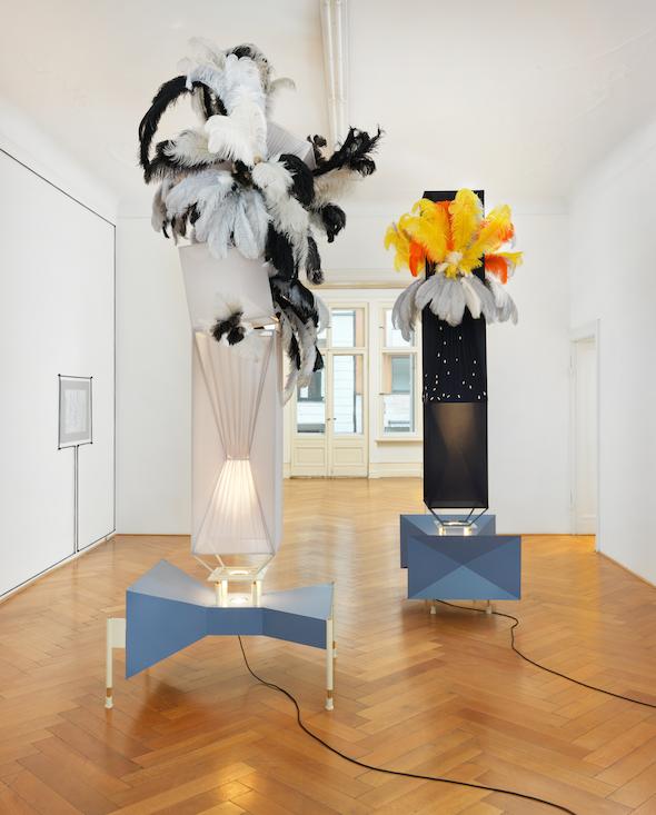 Berlin Art Link Explores Julian Gothe's Their Terrian
