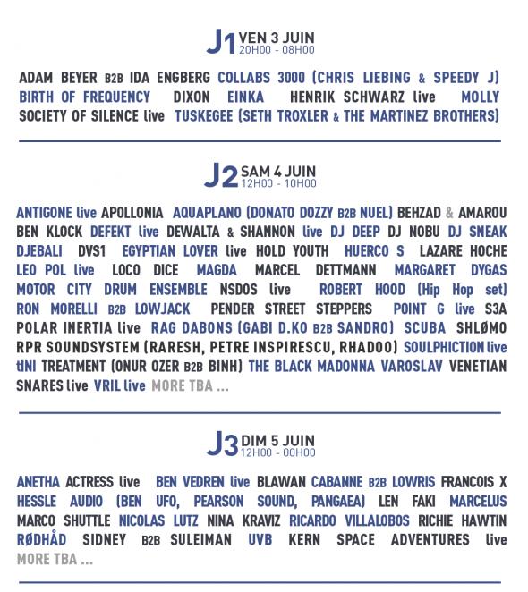 Berlin art link, Line up weather festival 2016 // Announcement