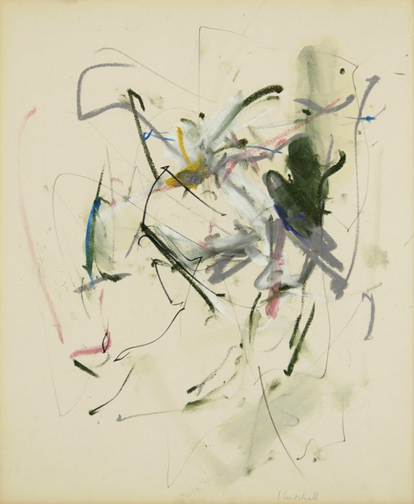 Joan Mitchell, Untitled // Artsy Profile