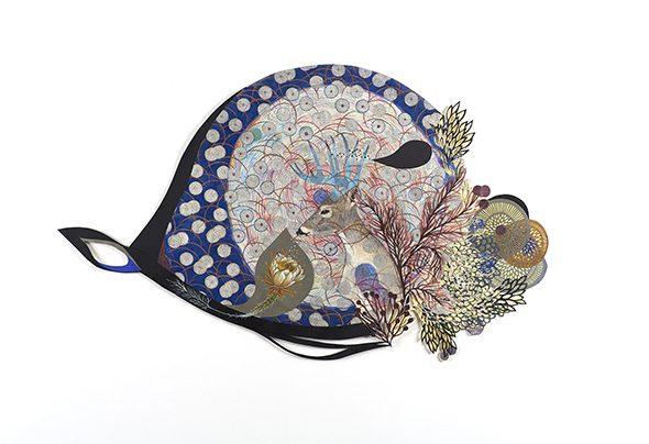 Anna Charaktinou, Inside My Deer Flourishing Ceremony, 2016, 88 x 52 cm