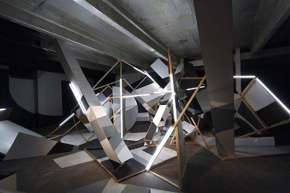 Clemens Behr: Rauminstrallation Lillienstraße, Installation, 2014 // Courtesy of the Artist