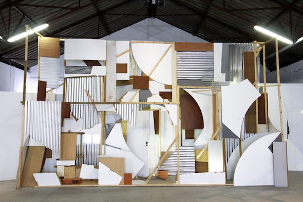 Clemens Behr: Samples and Variations, Installation, 2014 // Courtesy of the Artist