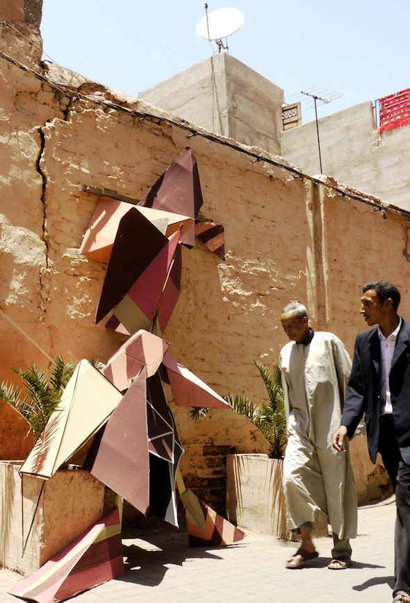 Clemens Behr: Morocco, Installation, 2011 // Courtesy of the Artist