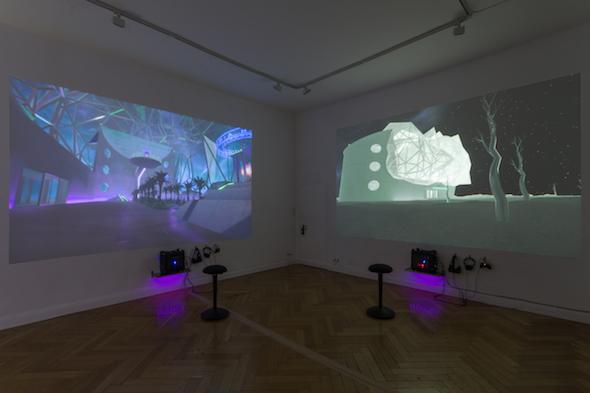 Berlin Art Link Interview with Alfredo Salazar-Caro and William James Richard Robertson