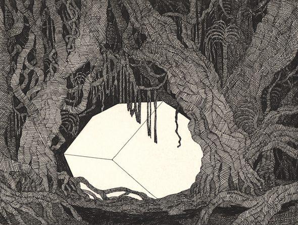 Kevin Lucbert, Page from 'La Traversée', published by La Cinquième Couche, 2016 // courtesy of the artist