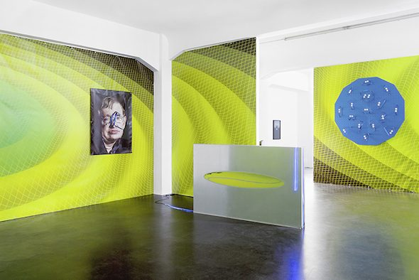 Luca Pozzi, 'Discovery & Premonitions', installation view, courtesy of Galerie Alexander Levy