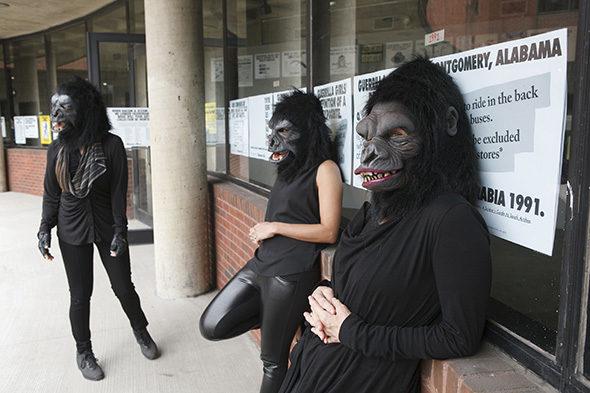 Guerrilla Girls, Andrew Hinderaker