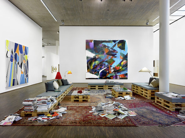 me Collectors Room Berlin, 'My Abstract World', installation view, 2016 // Courtesy of me Collectors Room, Photo: Bernd Borchardt