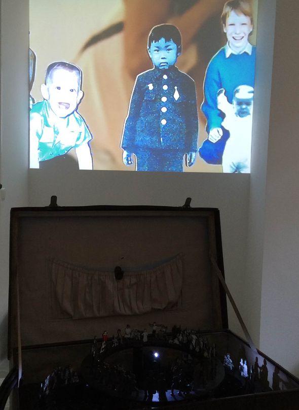 Hu Weiyi, Pulp Landscape III, video installation // @ Edmond Gallery