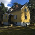 The Yellow House in Järfalla, Stockholm // Courtesy of Inhabitant Zero